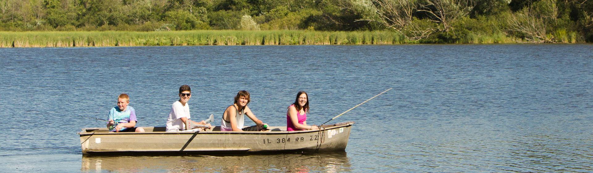 Camping lake campground overnight rental for Fish lake camping