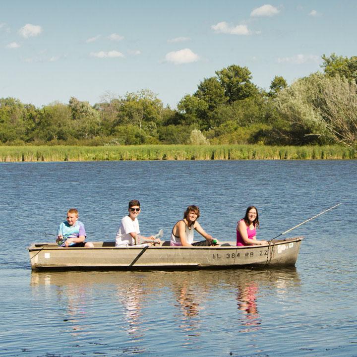 Fish Lake Camping Resort Illinois Campground